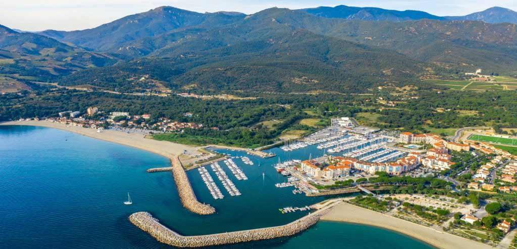 le port d'Argeles sur mer