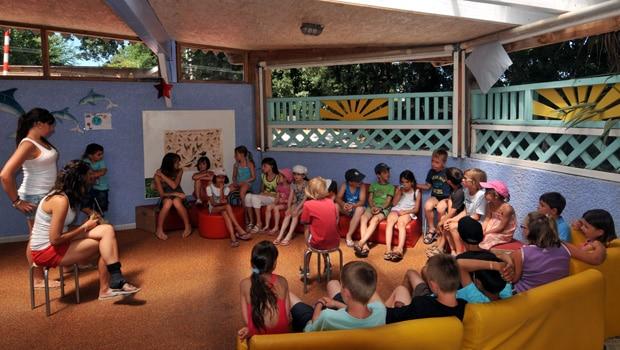 Club enfant camping Argeles