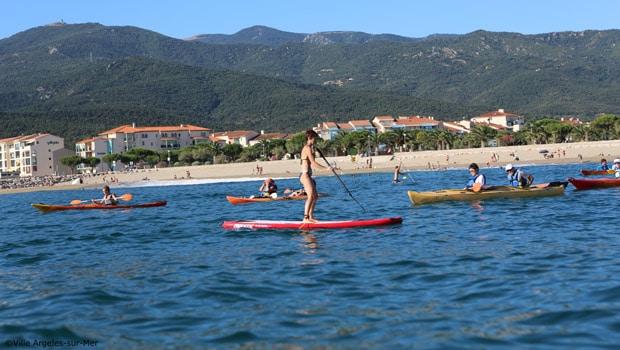 Camping méditerranée et activités nautiques