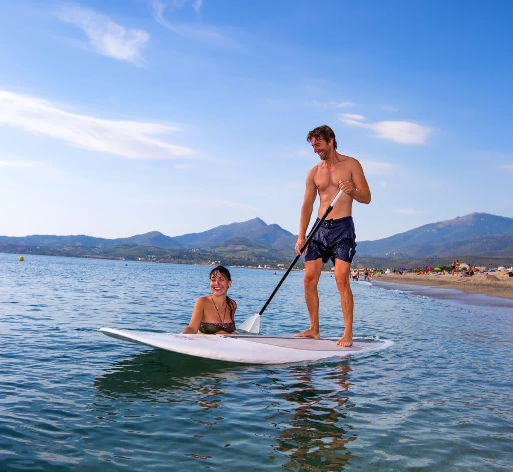 Paddle argeles sur mer camping