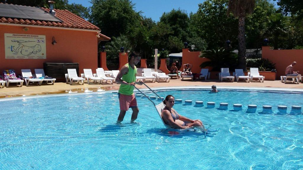 Argeles sur mer camping accès handicapés