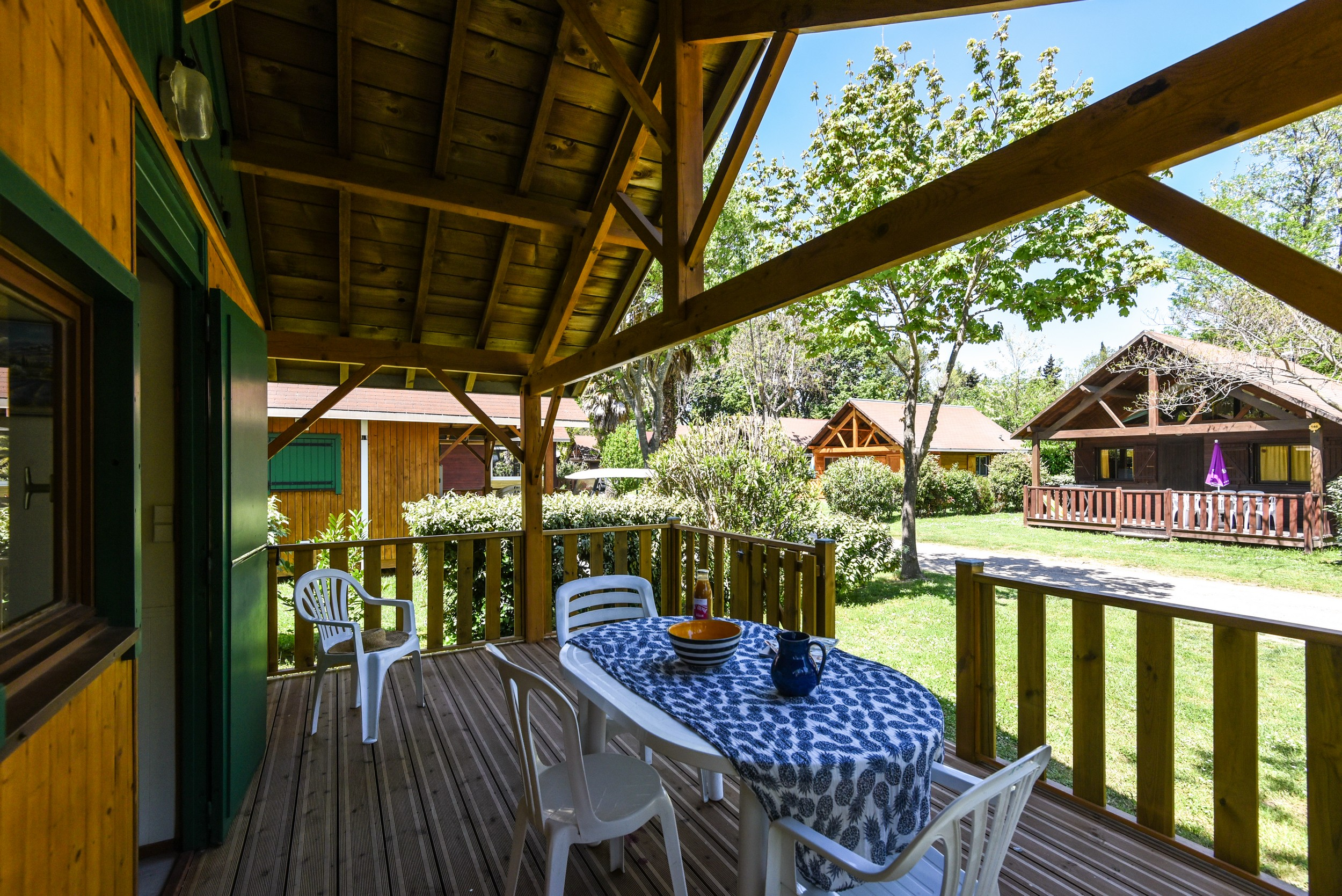 chalet location camping argeles