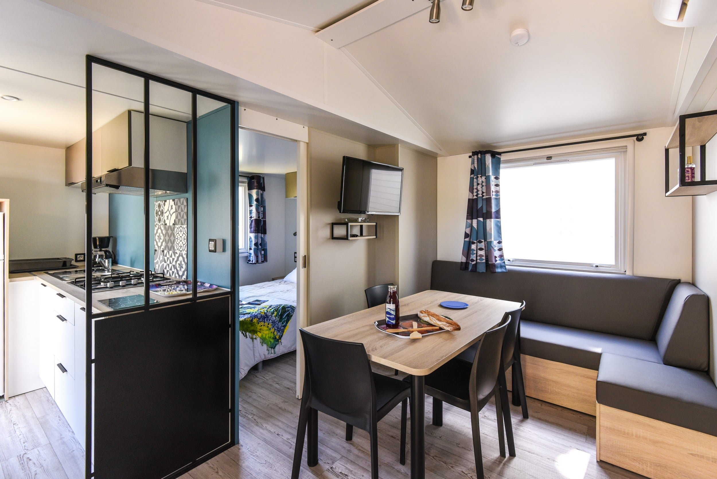 Camping mobile-home Family argeles