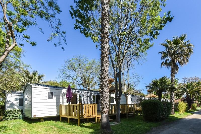 Premium exterieur Location Mobile Home argeles sur mer 66