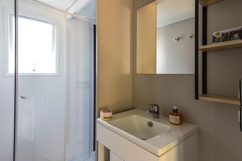 Premium Salle d'eau Location Mobile Home argeles sur mer 66