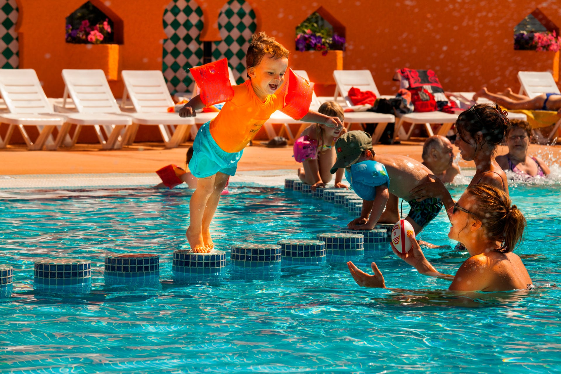 camping argeles piscine