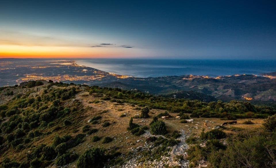 Coucher de soleil Argeles sur mer