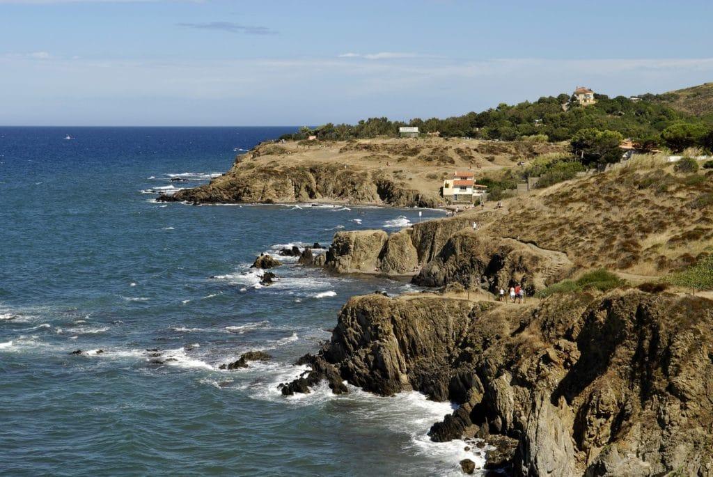 sentier du littoral Argeles