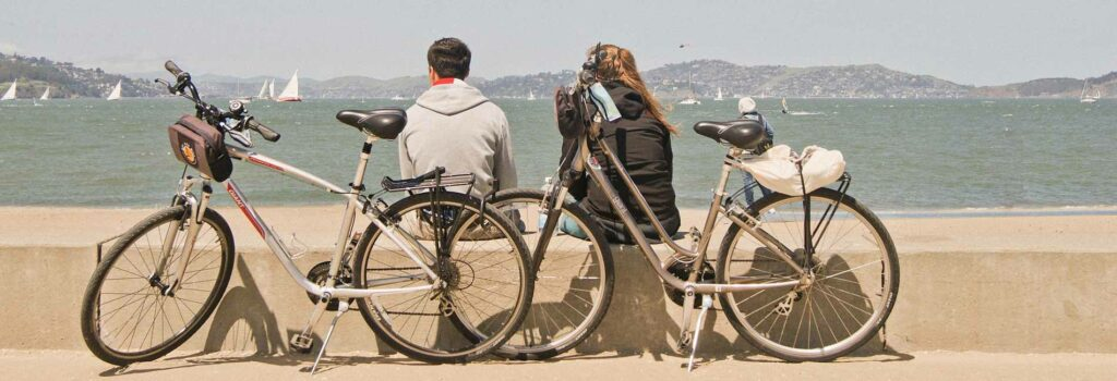 Vélo bord de mer